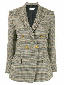 A.L.C. Sedgwick II check print blazer - Brown