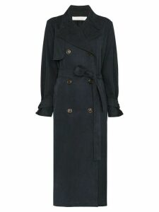 See By Chloé midi trench coat - Blue