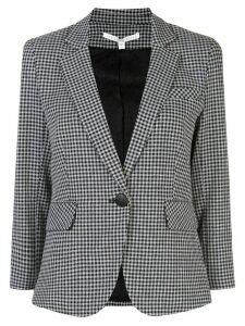 Veronica Beard gingham print blazer - Grey