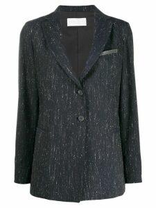 Fabiana Filippi fitted single-breasted blazer - Blue