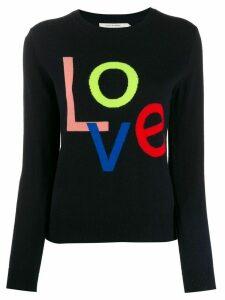Chinti & Parker 'Love' cashmere jumper - Blue