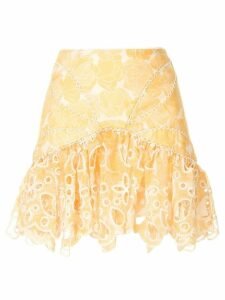 Acler Meredith skirt. - Yellow