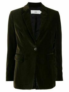 Closed Alby velvet blazer - Green