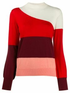 Chinti & Parker striped knitted jumper - Red