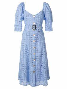 We Are Kindred Vienna crochet midi dress - Blue