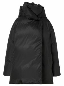 Burberry oversized padded coat - Black