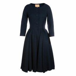 DIANA ARNO - Rhoda Pleated Cocktail Dress