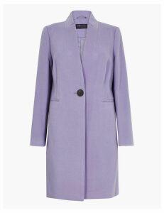 M&S Collection Notch Neck City Coat
