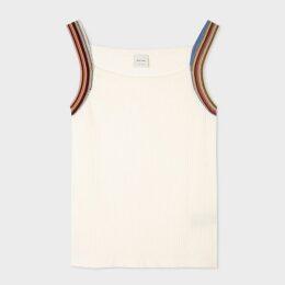 Women's Dark Navy One-Button Boyfriend-Fit Tuxedo Blazer