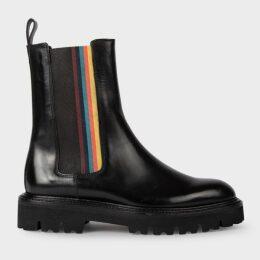 Women's Slim-Fit Prince Of Wales Check Wool Blazer