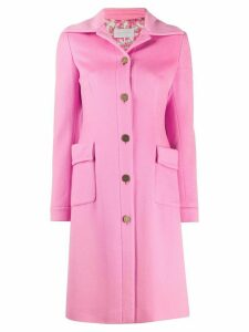 Valentino Pre-Owned 2000's single breasted coat - Pink