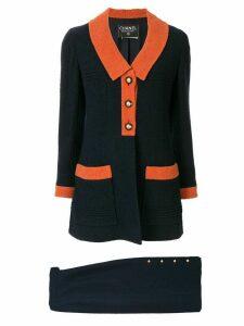 Chanel Pre-Owned 1993's Setup suit jacket skirt - Black