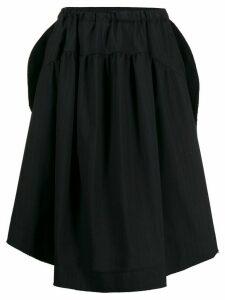 Comme Des Garçons Pre-Owned 2000s pinstripe skirt - Blue