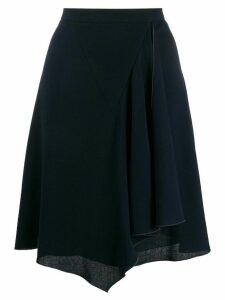 Chanel Pre-Owned 1990s handkerchief skirt - Blue
