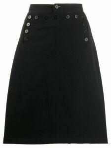 Junya Watanabe Comme des Garçons Pre-Owned 1990'S buttoned skirt -