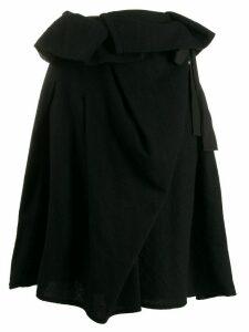 Comme Des Garçons Pre-Owned 1990's straight fit skirt - Black