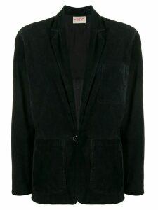 Kenzo Pre-Owned 1980's single breasted blazer - Black