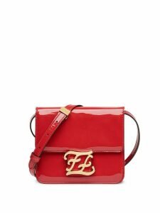 Fendi Karligraphy shoulder bag - Red