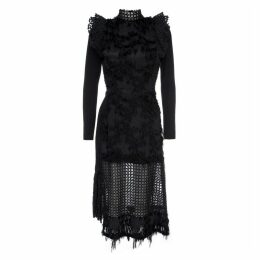 LAHIVE - Vivienne Black Cocktail Statement Dress