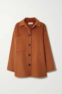 Vanessa Bruno - Naïve Wool And Cashmere-blend Coat - Orange