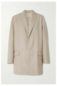 Roksanda - Shida Mélange Wool And Cashmere-blend Blazer - Beige