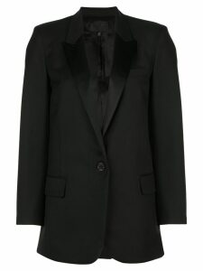 Nili Lotan single-breasted fitted blazer - Black