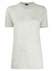 Joseph crew-neck cashmere T-shirt - Grey