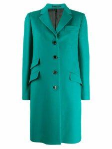 Paul Smith single-breasted midi coat - Green