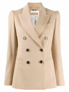Chloé double-breasted blazer - NEUTRALS