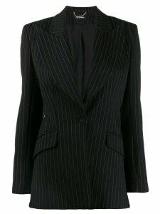 Styland fitted pinstripe blazer - Black