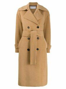 Harris Wharf London Polaire coat - 441 TAN