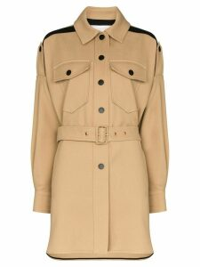 See By Chloé belted coat - Brown