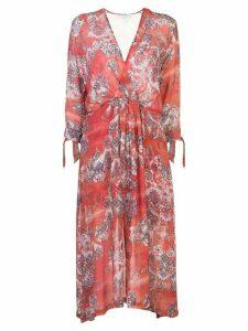 IRO Gramy wrap-style dress - Red