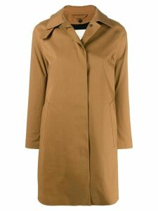 Mackintosh concealed fastening trench coat - Neutrals
