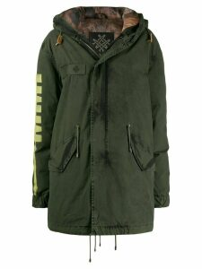 Mr & Mrs Italy parka coat - Green