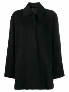 Filippa-K Montreal single-breasted coat - Black