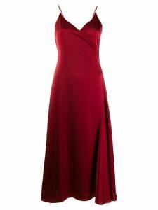 Filippa-K Callie wrap dress - Red