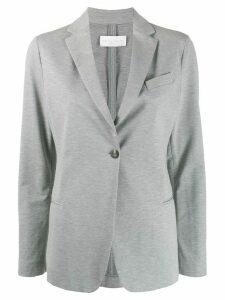 Fabiana Filippi fitted single-breasted blazer - Grey