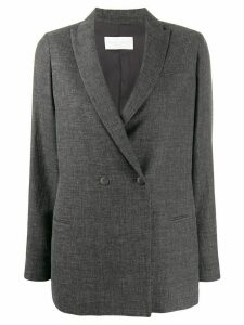 Fabiana Filippi fitted double-breasted blazer - Grey