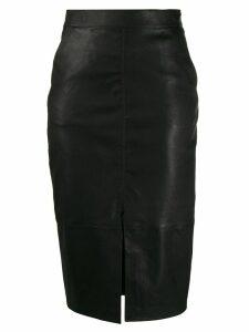 Ba & Sh Queen pencil skirt - Black
