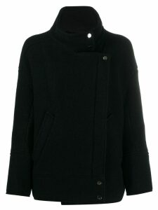 Ba & Sh double-breasted fitted coat - Black