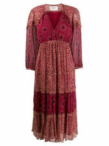 Ba & Sh Gypsie midi dress - NEUTRALS