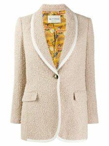 Etro textured blazer - NEUTRALS