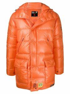 Brumal oversized padded coat - ORANGE