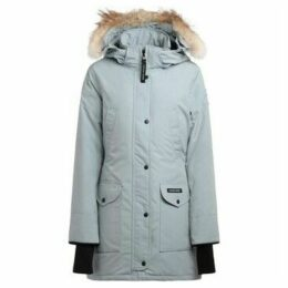 Canada Goose  Parka ice-colored Trillium model with hood  women's Parka in Other