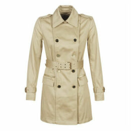 Guess  CHRISTINA TRENCH  women's Trench Coat in Beige