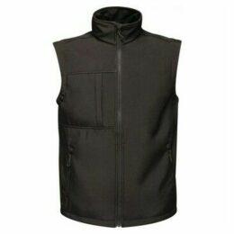 Professional  Octagon II 3 Layer Softshell Body Warmer Black  women's Coat in Black