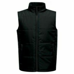 Professional  Access Insulated Body Warmer Black  women's Coat in Black