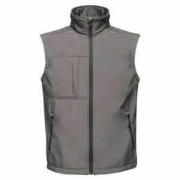Professional  Octagon II 3 Layer Softshell Body Warmer Grey  women's Coat in Grey