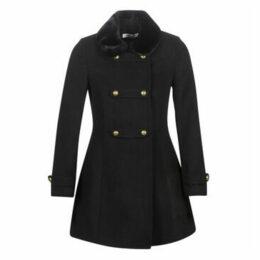 Naf Naf  ABRENDA M1  women's Coat in Black